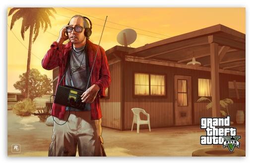 Download GTA V Nervous Ron UltraHD Wallpaper