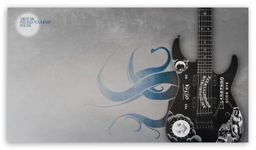 Download Kirks Guitar UltraHD Wallpaper