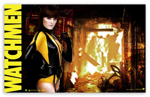 Download Watchmen Silk Spectre UltraHD Wallpaper