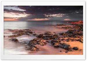 Dramatic Sunset Beach