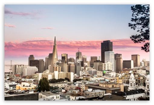 Download San Francisco City FiDi UltraHD Wallpaper