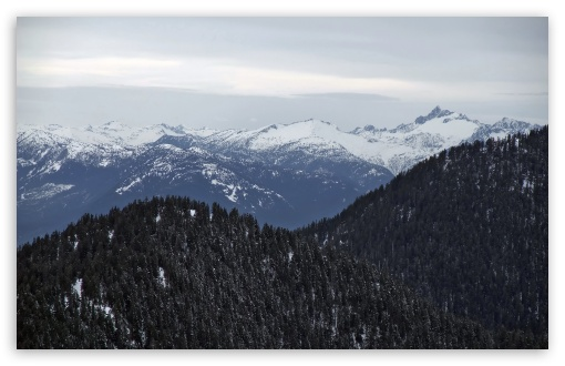 Download Snowy Mountains 4 UltraHD Wallpaper