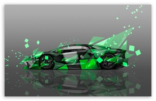 Download Lamborghini Aventador Side Aerography Car... UltraHD Wallpaper