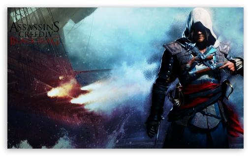 Download Assassin Creed IV Black Flag UltraHD Wallpaper