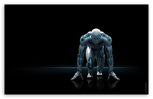 Download Antivirus Robot UltraHD Wallpaper