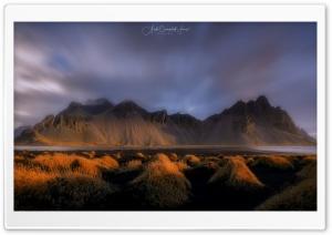 Vestrahorn, Iceland, Sunset