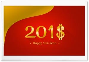 Happy New Year 2018 Money