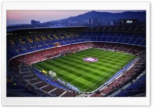 Camp Nou in Barcelona, Spain
