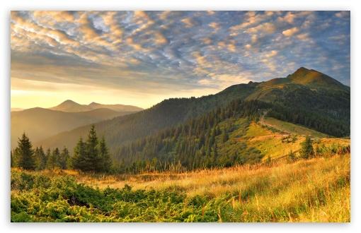 Download Mountain Landscape Nature UltraHD Wallpaper