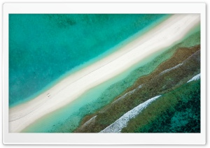 Aerial View, Sand, Sea,...