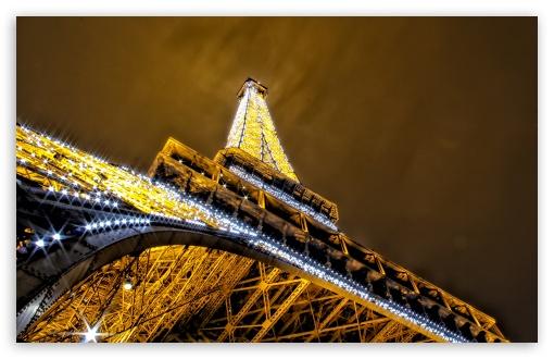 Download Glittering night in Paris UltraHD Wallpaper