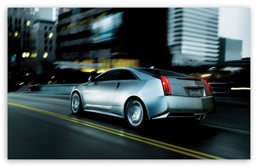 Download Cadillac CTS Coupe UltraHD Wallpaper