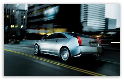 Download Cadillac CTS Coupe UltraHD Wallpaper