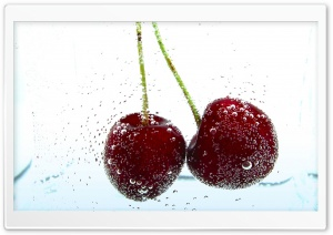 Two Cherries Background