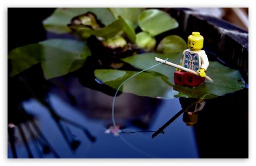 Download Lego Fishing UltraHD Wallpaper