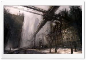 Ruined City Art