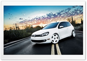 Volkswagen Golf 6 White