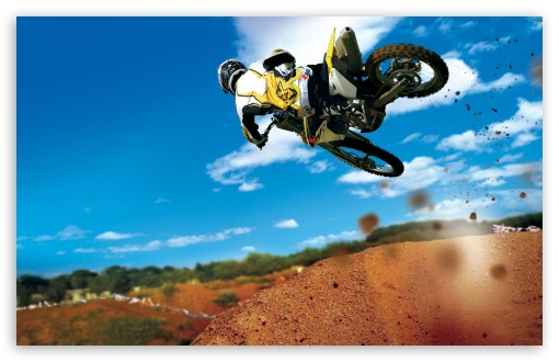 Download Bike Stunt UltraHD Wallpaper