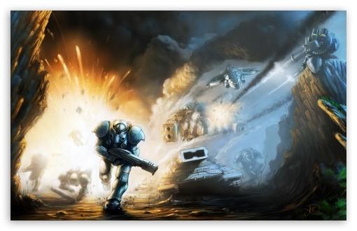 Download Starcraft 2 Battle UltraHD Wallpaper