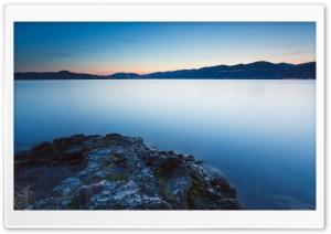 Calm Lake, Evening