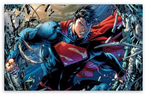 Download Superman Cartoon UltraHD Wallpaper
