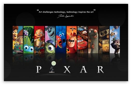 Download Pixar UltraHD Wallpaper