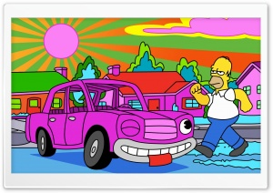 Homer Simpsons Stoned