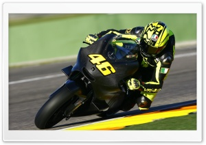Ducati Motorcycle On Track