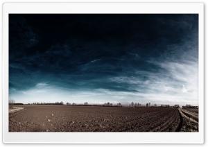 Plowed Field In Autumn