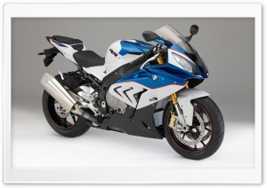 BMW S1000RR 2014 blue