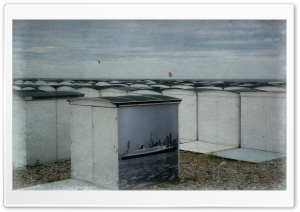 Beach Huts, Le Havre, France