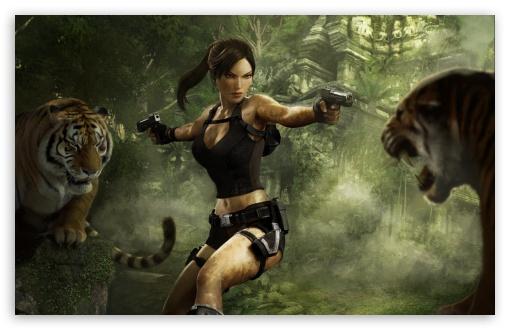 Download Tomb Raider Underworld UltraHD Wallpaper