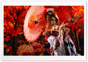 Traditional Japanese Woman...