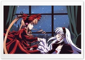 Anime Girls In Red Dresses