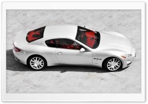 Silver Maserati