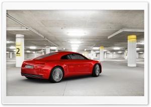 Audi E Tron Rear Side...