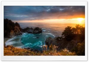 Sunset McWay Falls California
