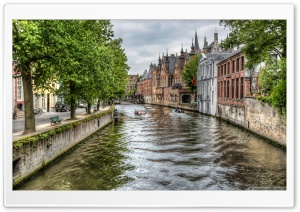 The Groenerei Canal in Bruges...
