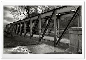 My Old Bridge BW by...