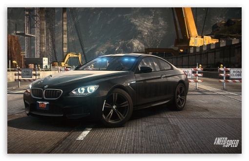 Download Need For Speed Rivals BMW M6 Coupe UltraHD Wallpaper