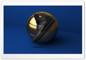 Gold Football Ball, Nike Mens...