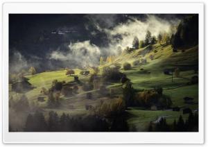 Mountain Slope, Mist