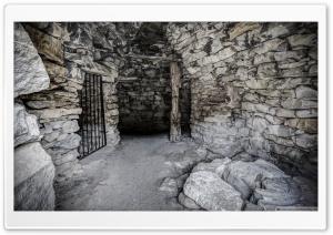 Inside an Old Wine Vat...