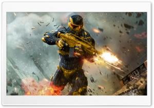 Crysis 2 Wallpaper Golden