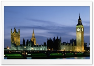 Houses Of Parliament And Big...