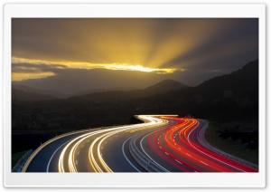 Highway Long Exposure Light...