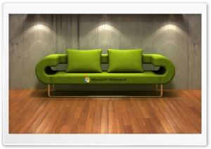 Windows 8   3D Couch