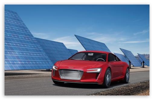 Download Audi E Tron UltraHD Wallpaper