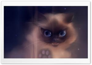 Bad Kitty Painting