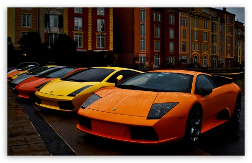 Download Lamborghini Murcielago and Gallardo UltraHD Wallpaper